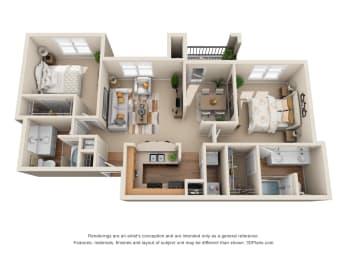 Floor Plan The Arlington, opens a dialog