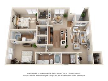 Floor Plan The Gruene, opens a dialog