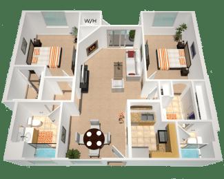 Floor Plan Oakland, opens a dialog