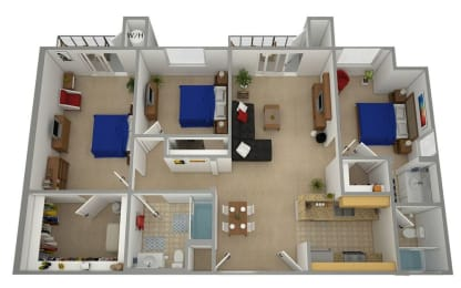 CA SYLMAR ASTORIA MOUNTAIN VIEW Apartments 91342
