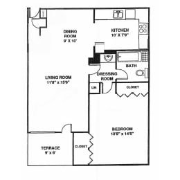 WC South Floor Plan