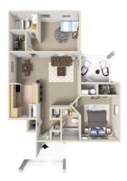 Fairmont I Floor Plan at Ashton Creek Apartments in Chester VA, opens a dialog