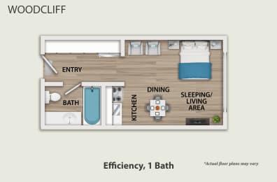 Floor Plan Efficiency, opens a dialog