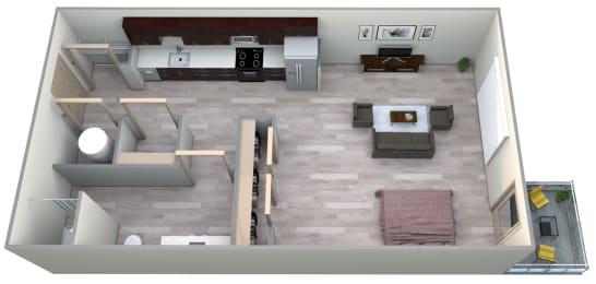 Lapis Floor Plan at Azure Houston Apartments, Houston, 77007, opens a dialog