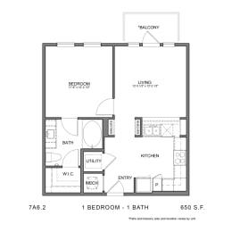 Floor Plan 7A6.2, opens a dialog