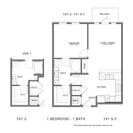Floor Plan 7A7.2, opens a dialog