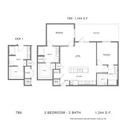 Floor Plan 7B6, opens a dialog