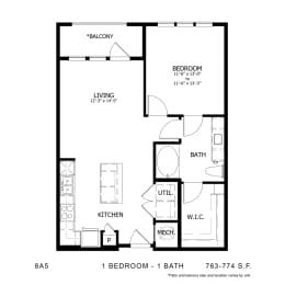 Floor Plan 8A5, opens a dialog