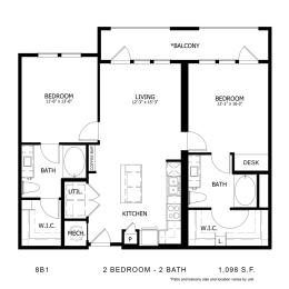 Floor Plan 8B1, opens a dialog