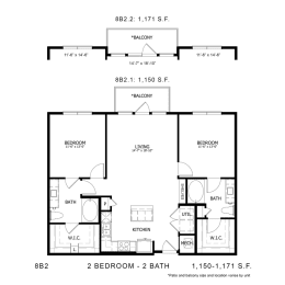 Floor Plan 8B2, opens a dialog