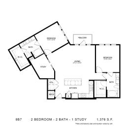 Floor Plan 8B7, opens a dialog
