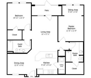 Floor Plan 3B2, opens a dialog