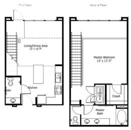 Floor Plan 5THA7, opens a dialog