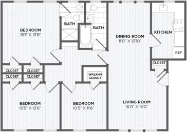 3 bedroom rentals chevy chase maryland, opens a dialog