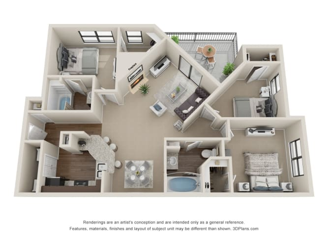 Floor Plan  Windjammer