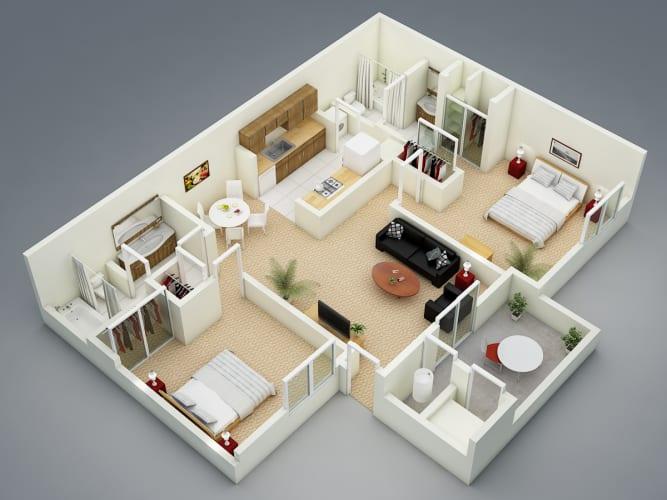 Floor Plan  Winter, opens a dialog.