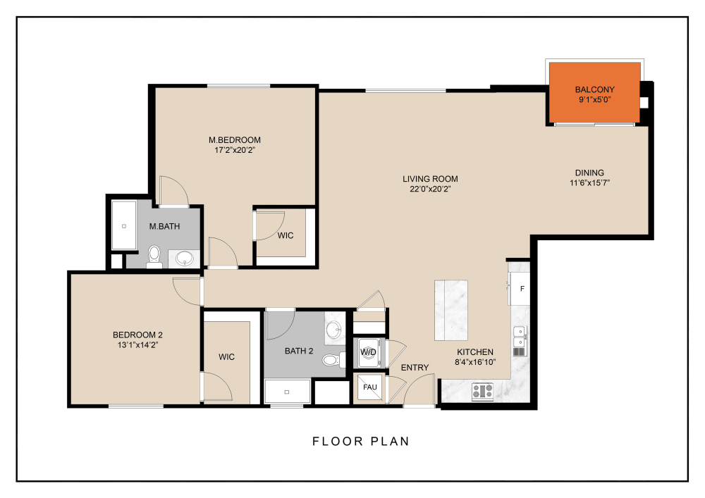 unit f floorplan