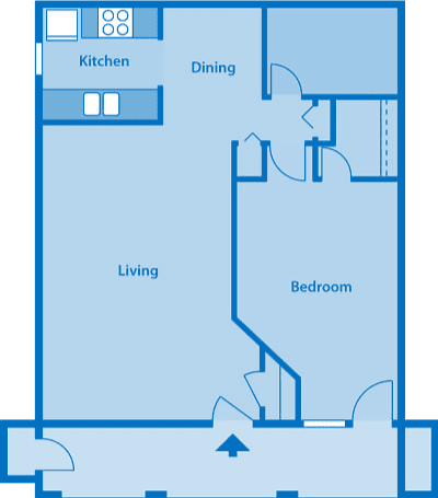 The Arboretum 1D Floor Plan Image depicting layout of home.