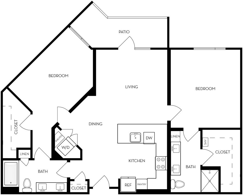 2B-2 Floor Plan