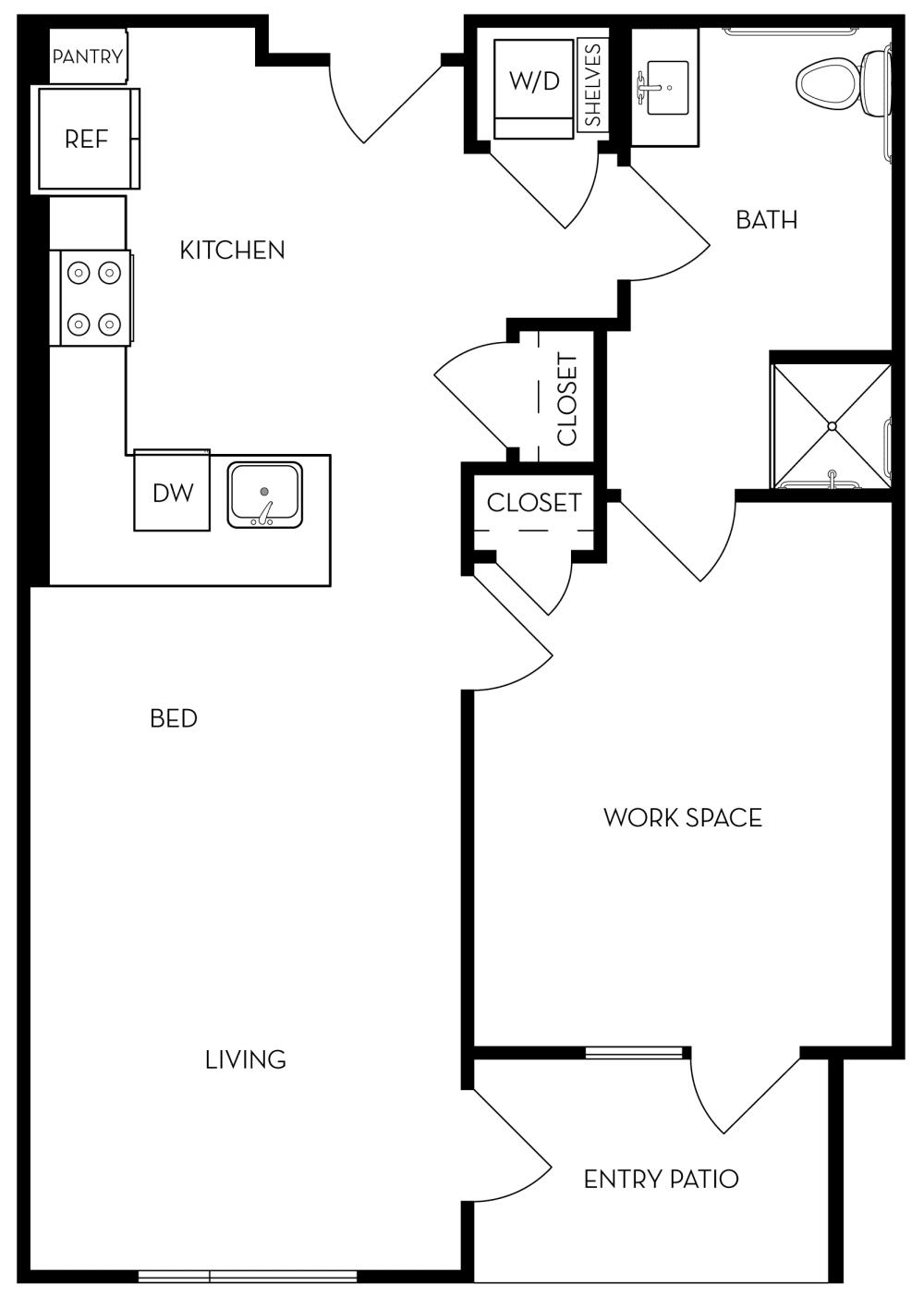Livework3 Floor Plan