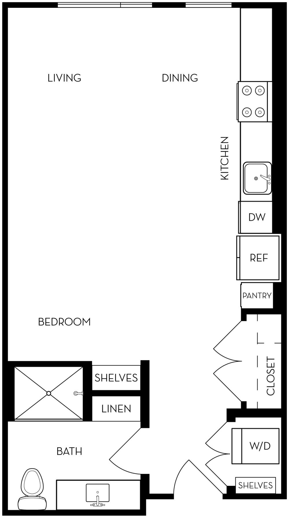 ST1 Floor Plan