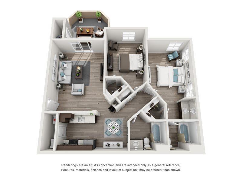 La Lusso floor plan
