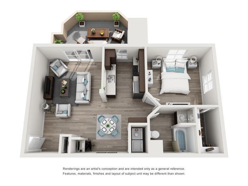 La Ricco Floorplan