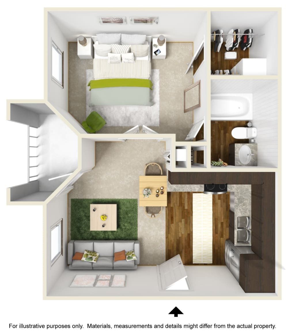 Studio, 1 & 2 Bedroom Apartments In Raleigh, NC