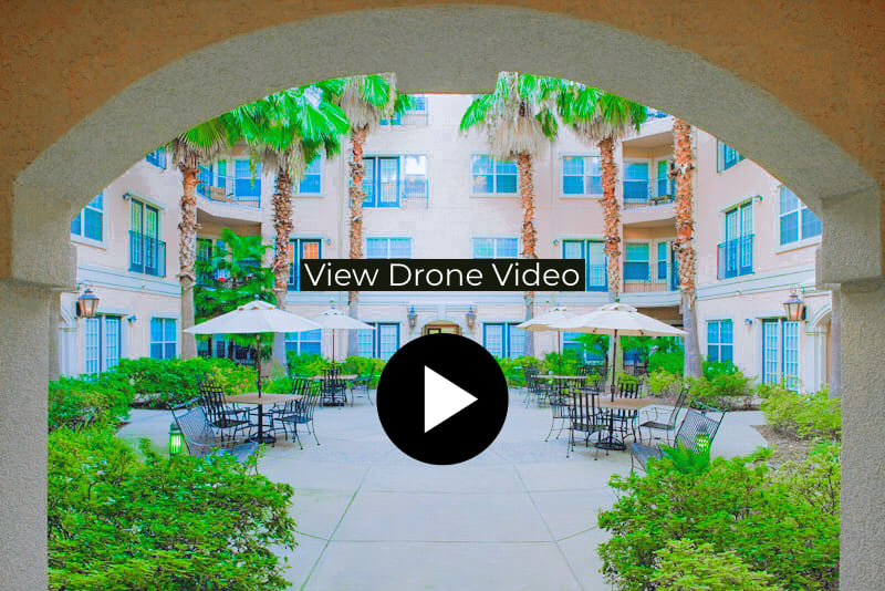 Villas at Katy Trail Apartments Aerial Drone Video