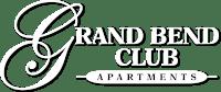 White Property Logo for Grand Bend Club Apartments, Grand Blanc, Michigan