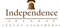 at Independence Plaza Logo, Canoga Park