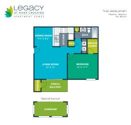 Floor Plan The Wesleyan