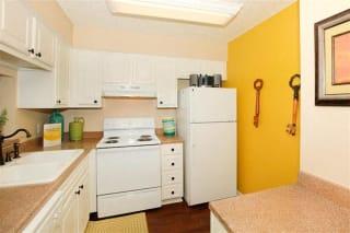 San Antonio Granite at Tuscany Hills Apartments Palazzo Floor Plan kitchen