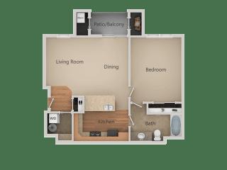 at San Tropez Apartments & Townhomes, Utah
