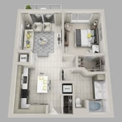 Floor Plan Charisma - A3