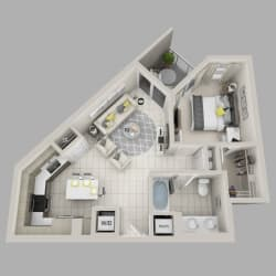 Floor Plan Aurora - A7