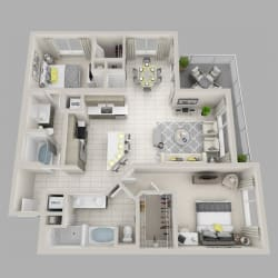 Floor Plan Mystic - B3