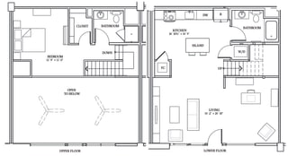 Floor Plan LW5 (Live Work Loft)