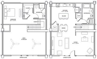 Floor Plan LW7 (Live Work Loft)