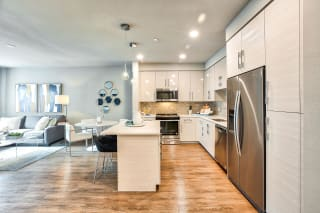 Kitchen with Island at Blu Harbor by Windsor, CA, 94063
