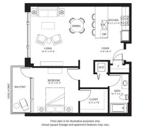 Floor Plan A1 North