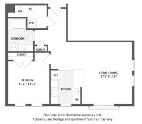 A5(4) floor plan at Jack Flats by Windsor, Massachusetts, 02176