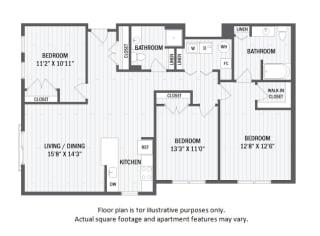 C3(1) floor plan