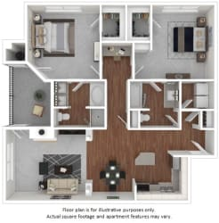Kalanchoe floor plan at Windsor at Meadow Hills, Aurora, CO