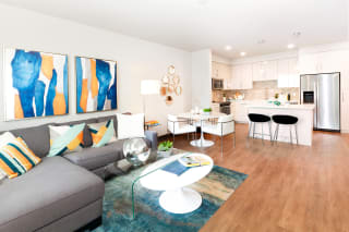 Open Living Room at Blu Harbor by Windsor, Redwood City, California