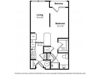 Floorplan at The Ridgewood by Windsor, 4211 Ridge Top Road, Fairfax, 22030