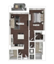 A9(5) floor plan at The Woodley, Washington, DC