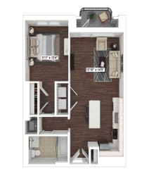 A4(4) floor plan at The Woodley, 2700 Woodley Road, NW, Washington, DC