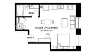 Floor Plan Stone 1 (Lofts)