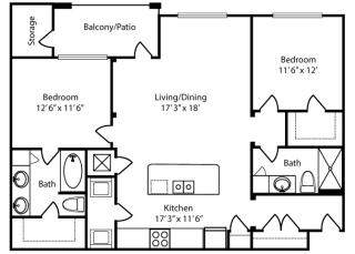 Mayfair-2x2-1183 sq ft